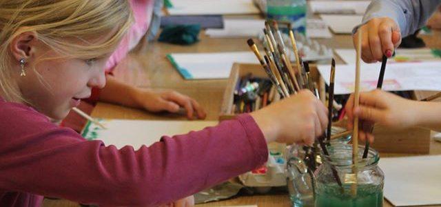 Workshops voor kinderen in de herfstvakantie