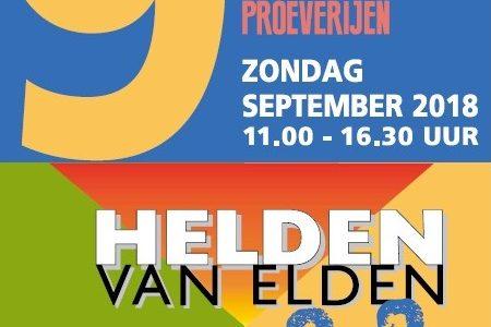 Expositie schilderijen in Dorpshuis Elden