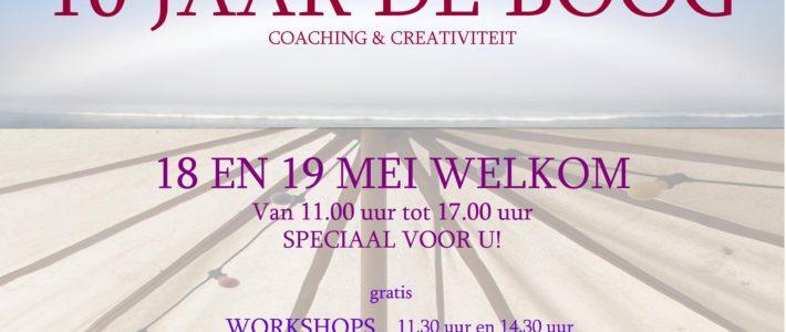 10 JAAR DE BOOG coaching & creativiteit