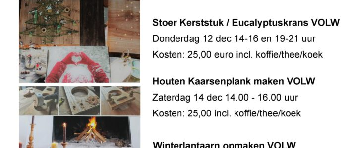KERSTWORKSHOPS